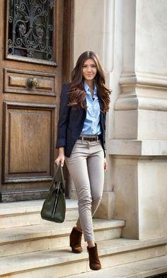 Look com Blazer + Bota - Moda it | Moda It