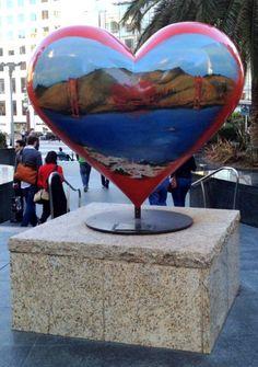 San Francisco Heart Union Square BoulderLocavore.com