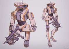 Artstation © 2016 character art, character design references, character ref Star Wars Droids, Star Wars Rpg, Character Concept, Character Art, Character Reference, Sketch Manga, Robots Characters, Arte Robot, Robot Concept Art