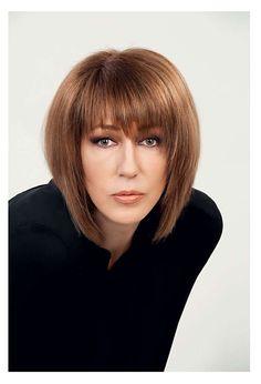 Стильные причёски для дам элегантного возраста
