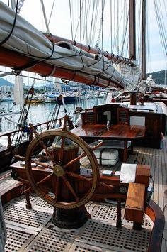 Sail boat | Gaff schooner