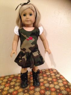 American Girl Doll Clothes by Dalesdolldesigns on Etsy, $16.00