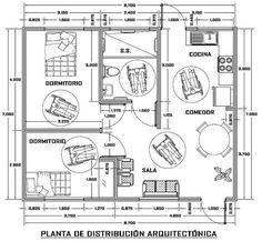planos de casas adaptadas para discapacitados