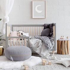 How lovely is this kid's room! Beautifully styled and photographed by @melplambeck for @littleconnoisseur Ooh Noo Alphabet Block available at www.istome.co.uk