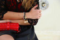 @Chiara Nasti #ChiaraNasti #NastiLove con #Sagapo #fashion #blogger #outfit #bracelet #charms #happy #collection