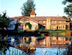 One of my favorite hotels in France - just outside of Bordeaux - Les Sources de Caudalie | slh.com.  BEautiful!