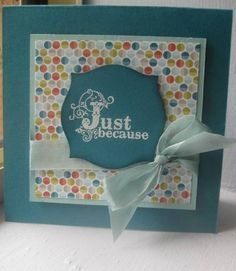 SAB 2013 - Vintage Verses and Sycamore St DSP by higgiz - Cards and Paper Crafts at Splitcoaststampers