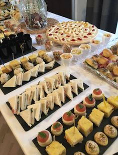 63 Super Ideas For Birthday Party Food Menu Tea Sandwiches Party Food Menu, Party Food Buffet, Appetizer Buffet, Party Snacks, Appetizer Recipes, Table Party, Party Recipes, Party Finger Foods, Finger Food Appetizers
