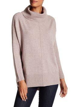 So cozy!  Premise Cashmere Cashmere Turtleneck Sweater