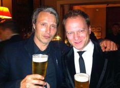 with polish actor Maciej Stuhr, Malta 2012