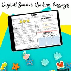 These high-interest reading passages will keep students engaged during the summer months, and they're perfect for the months of May and June! 😎 The pack includes digital and printable versions, and readers will be exposed to a wide variety of comprehension skills and strategies, vocabulary, fluency, and written response practice! Third Grade Reading, Student Reading, Second Grade, Text Based Evidence, Reading Comprehension Passages, Independent Reading, First Grade Teachers, Reading Intervention, Reading Lessons