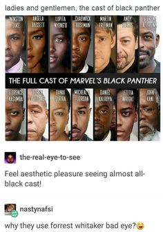All are black (noracism) except for Bilbo and Gollum xD sorry but I can't atop giggling!