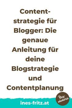 Die Content-Strategie für deinen Blog unterscheidet dich von Hobbybloggern und bringt deinen Blog aufs nächste Level: mehr Leser erreichen, mehr Einnahmen mit deinem Blog erzielen und endlich produktiv und professionell bloggen! Die besten Tipps für die Erstellung und Umsetzung!   #blogstrategie #contentplan #redaktionsplan #toolsblogger #tippsblogger #professionellbloggen #mitbloggengeldverdienen #blogbusiness #besserbloggen #bloggenlernen #erfolgreichbloggen Content Marketing, Affiliate Marketing, Office Organisation, Business Inspiration, Seo, Videos, Passive Income, Search Engine Optimization, Earning Money