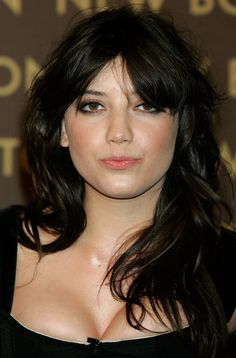 decided i want to be daisy lowe, including copying her bangs.