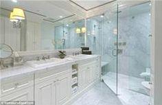 Nice bathroom: The sprawling home has three full bathrooms