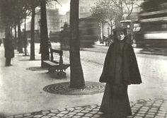 1907 rok – Olga Boznańska na Boulevard Montparnasse.
