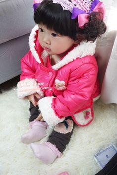 Just a doll Korean Princess, Korean Babies, Light Side, Hair Hoops, Little Fashion, Friends Fashion, Hair Jewelry, Hair Band, Baby Car Seats
