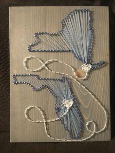 Wedding Gift String Art : String Art Sign (Wedding, Anniversary, Birthday), love art, wall art ...