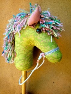 How To Make A Hobby Horse  A Complete Craft Kit by chinkymonkey, $26.00