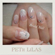 Amber Wedding nails?