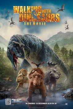 與龍同行大電影/與恐龍冒險3D (Walking With Dinosaurs 3D) poster