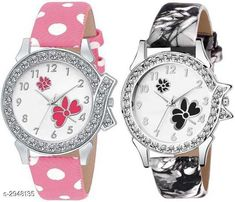 Watches  Leather Women's Watches (Pack Of 2 ) Material: Leather  Size: Free Size Type: Analog Description: It Has 2 Pieces Of  Women's Watches Country of Origin: India Sizes Available: Free Size   Catalog Rating: ★4.1 (489)  Catalog Name: Stylish Leather Women's Watches Combo Vol 15 CatalogID_401825 C72-SC1087 Code: 942-2948135-525