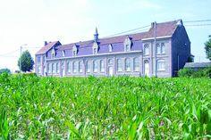 Vakantiehuis voor 20 personen in een oude school in Wijtschate / Westhoek