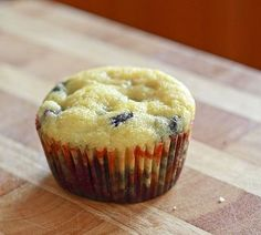 Low Carb Blueberry Muffins - I used vanilla unsweetened almond milk and a splash of almond extract instead of vanilla