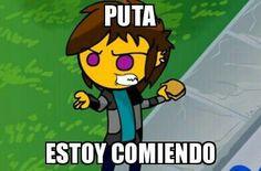 Funny Spanish Memes, Spanish Humor, Cute Memes, Dankest Memes, Wtf Funny, Funny Jokes, Memes Lindos, Mexican Memes, Cartoon Profile Pics