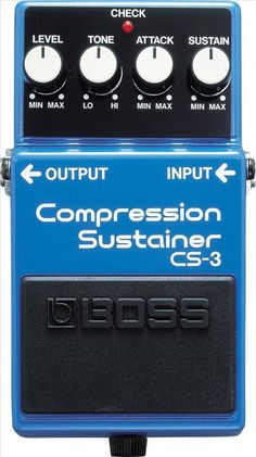 Boss CS-3 Compressor/Sustainer Pedal >> Rs.6,058.00 >> #BajaaoBaja #MusicalInstruments #Pedal