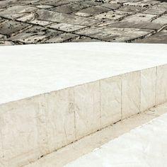 Gibellina, in Val di Belice, het monument voor de slachtoffers van de aardbeving in '68