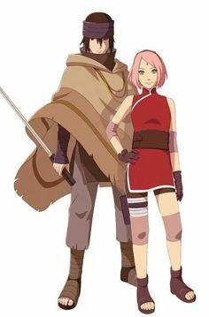 Sakura y sasuke the last