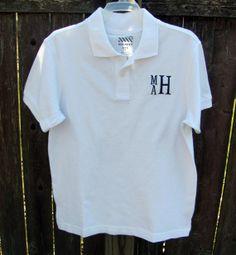 Monogram for W Cheap Polo Shirts, Custom Polo Shirts, Printed Polo Shirts, Toddler Outfits, Boy Outfits, Polo Shirt Design, School Outfits, Shirt Print