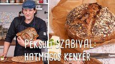 Péksuli Szabival: Hatmagos kenyér | Mindmegette.hu Lime, Bread, Food, Youtube, Meal, Brot, Eten, Breads, Meals