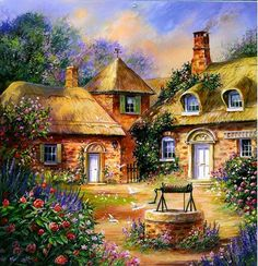Wishing Well Cottage~ So Who Can Tell, If I'll Be Wishing Most Of The Weekend, As Well!