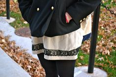 This week on @College Fashionista STYLE ADVICE OF THE WEEK: Classic Peacoat Flattery!