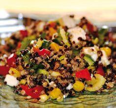 Salade de quinoa et de légumes