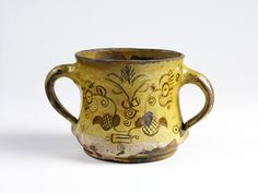 devon posset pot...dated 1686