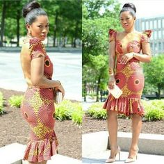 classy-ankara-styles-nigerian-wedding-sheer-hi-lo-midi-dress