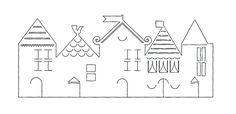 Muy bellas las casitas para decorar tus ventanas o como centros de mesa, son sumamente económicas, sólo necesitas descargar las plantillas e imprimirlas, luego, con la ayuda de un cutter o exacto cortar los detalles. Cada casita se lleva por lo menos una hora de trabajo, entre dibujo, recorte con tijera, cortes finos con cutter …