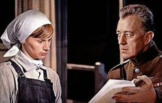 """Rita Tushingham and Alec Guinness in """"Dr. Zhivago"""" directed by David Lean. Dr Zivago, David Lean, Alec Guinness, Julie Christie, Future Trends, Movie Tickets, Great Films, Monologues, Classic Hollywood"""