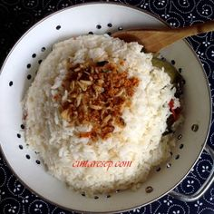 nasi liwet sunda - ricecooker