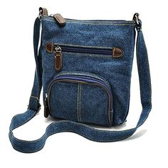Retro Dark Blue Denim Womens Handbag >>> More info could be found at the image url.Note:It is affiliate link to Amazon. #CarryWithYou