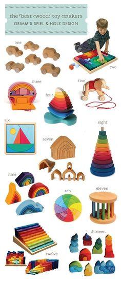 The Best Wooden Toys // los mejores juegos de madera Más #toysforkids