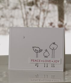 I Card Everyone : For the love of Birds!!