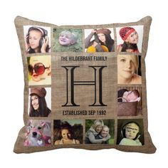 Rest your head on one of Zazzle's Photo Collage decorative & custom throw pillows. Add comfort and transform any couch, bed or chair into the perfect space! Personalized Photo Gifts, Personalized Pillows, Customized Gifts, Custom Gifts, Monogram Pillows, Custom Pillows, Decorative Throw Pillows, Westerns, Garden Bedroom