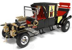 ''Munster's Coach'' 1:18 Scale - AutoWorld Diecast Model.