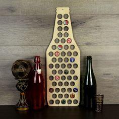 Beer Bottle Cap Holder Wood Beer Cap Display Beer by cheaphumidors