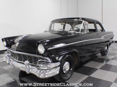 AutoTrader Classics - 1956 Ford Customline Coupe Black 8 Cylinder Manual Other | American Classics | Lithia Springs, GA