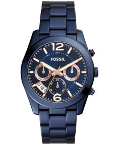 Fossil Perfect Boyfriend - Women Wrist Watch on YOOX. The best online selection of Wrist Watches Fossil. Army Watches, Fossil Watches, Cool Watches, Watches For Men, Casual Watches, Wrist Watches, Boyfriend Watch, Perfect Boyfriend, Bracelets